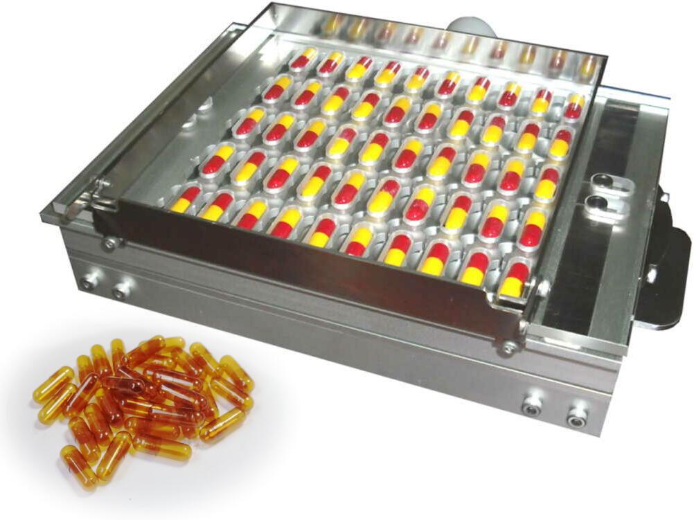医薬・健食用ハードカプセルの充填用機器のご紹介